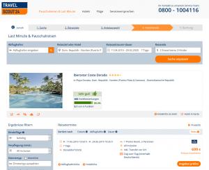 Screenshot Dom. Rep. Deal Iberostar Costa Dorada