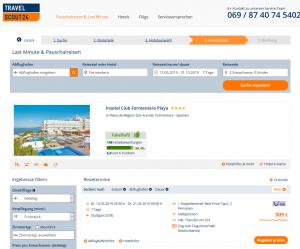 Screenshot Formentera Deal Insotel Club Formentera Playa