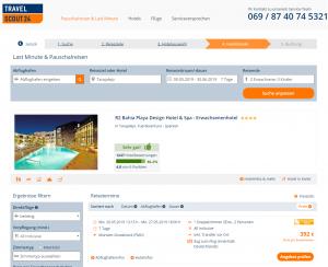 Screenshot Fuerteventura Deal R2 Bahia Playa Design Hotel & Spa