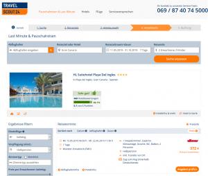 Screenshot Gran Canaria Deal 4* HL Suitehotel Playa Del Ingles