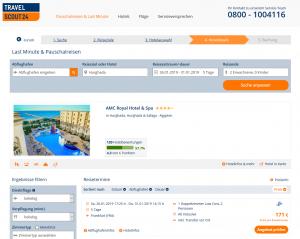 Screenshot Hurghada AMC Royal Hotel & Spa