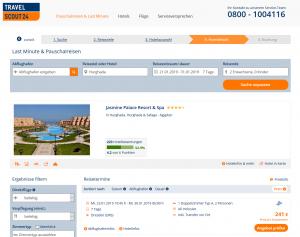 Screenshot Hurghada Jasmine Palace Resort & Spa