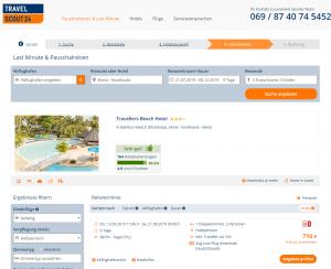 Screenshot Kenia Deal Travellers Beach Hotel
