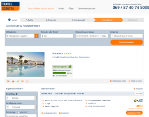 Screenshot Kos Deal Hotel Platanista