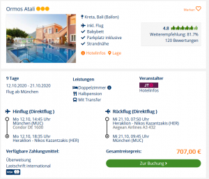 Screenshot Kreta Deal Ormos Atali