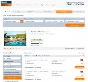 Screenshot Kroatien Deal Waterman Milna Resort