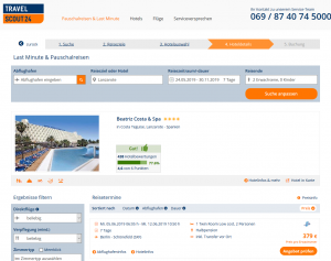 Screenshot Lanzarote Deal 4* Beatriz Costa & Spa