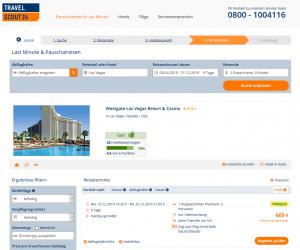 Screenshot Las Vegas Deal Westgate Resort & Casino