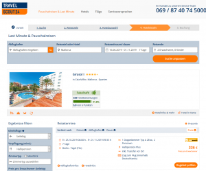 Screenshot Mallorca Deal 4,5* Hotel Girasol I