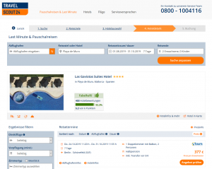 Screenshot Mallorca Deal Las Gaviotas Suites Hotel