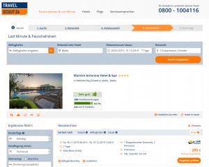 Screenshot Malta Deal Maritim Antonine Hotel & Spa