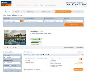 Screenshot Mexiko Deal NYX Cancun 14 Tage