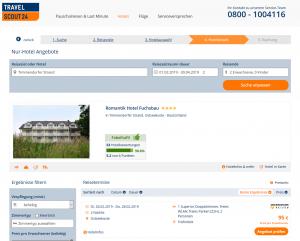 Screenshot Ostsee Deal Romantik Hotel Fuchsbau
