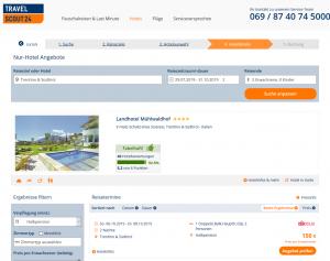 Screenshot Südtirl Deal Landhotel Mühlwaldhof