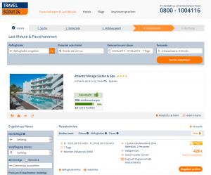 Screenshot Teneriffa Deal Atlantic Mirage Suites & Spa