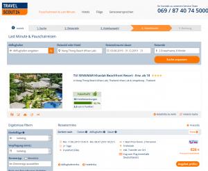 Screenshot Thailand Deal 4* TUI SENSIMAR Khaolak Beachfront Resort
