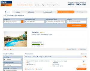 Screenshot Türkei Deal 4* Eldar Resort