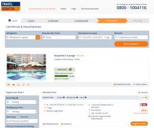 Screenshot Türkei Deal Sunprime C-Lounge