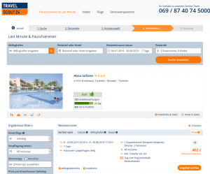 Screenshot Tunesien Deal Hotel Abou Sofiane