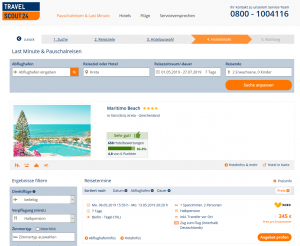 Screenshot Maritimo Beach Kreta