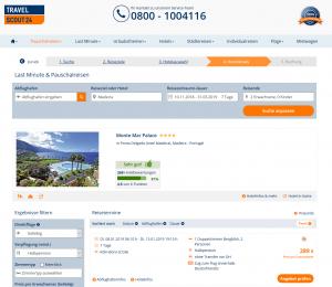 Screenshot Deal Madeira Monte Mar Palace