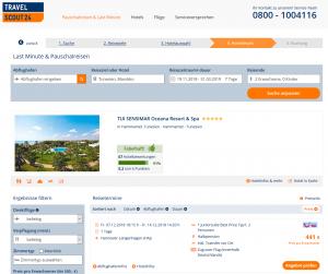 Deal Screenshot Tunesien TUI SENSIMAR Oceana Resort