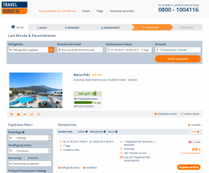 Screenshot Deal Kroatien Hotel Marco Polo