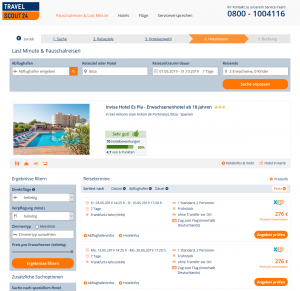 Screenshot Ibiza Deal