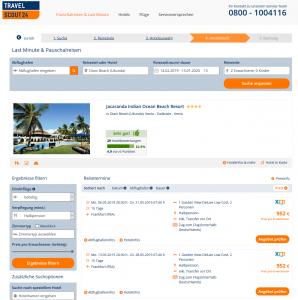 Screenshot Kenia Deal Jacaranda Indian Ocean Beach Resort