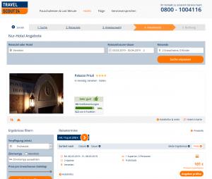 Screenshot Deal Vendig Palazzo Priuli