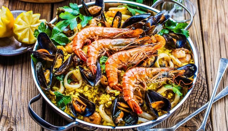Spanien - Meeresfruechte