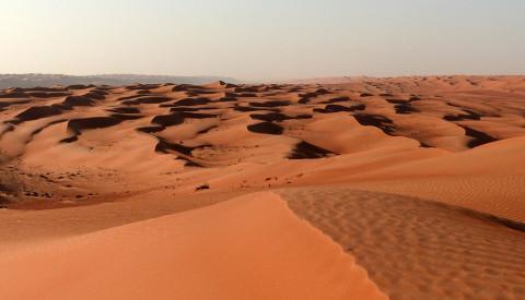 Wüste im Oman