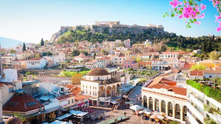 Billigflüge nach Athen