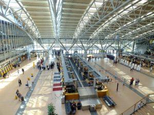 Abflughalle Hamburg Airport