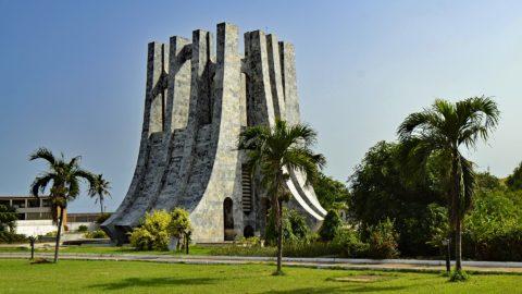 Denkmal im Kwame Nkrumah Memorial Park, Ghana