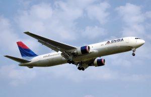 Maschine der Delta Air Lines