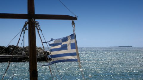 Flug nach Korfu