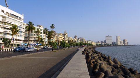 Marine Drive in Mumbai