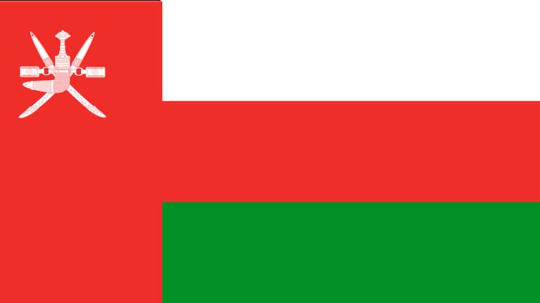 Flagge Oman