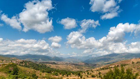 Gebirge, Algerien