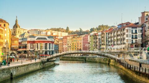 Flug nach Bilbao