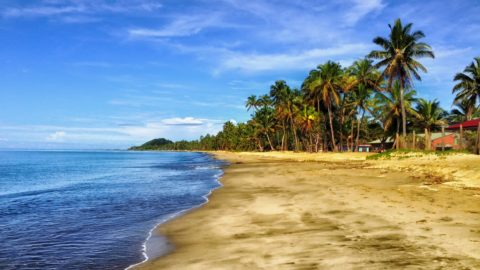Flug auf die Fidschi-Inseln