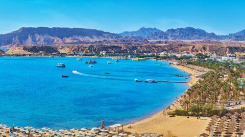 Flug nach Sharm-el-Sheikh