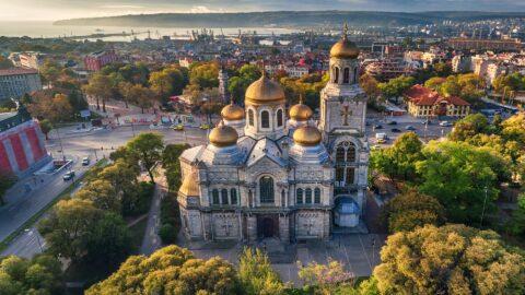 Flug nach Varna
