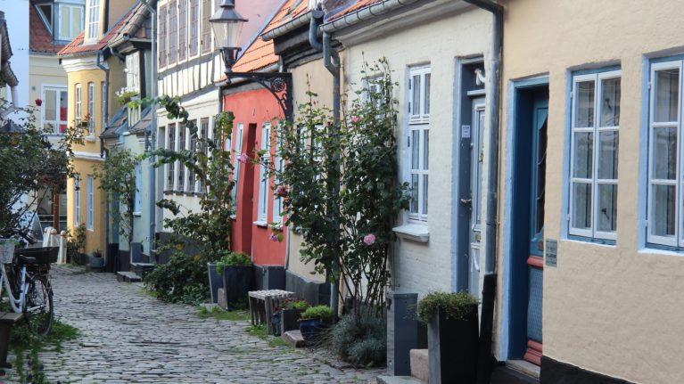 Gasse in Aalborg