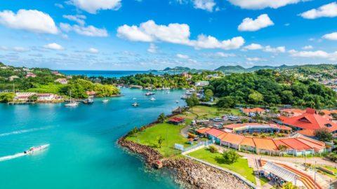 Flüge nach St. Lucia
