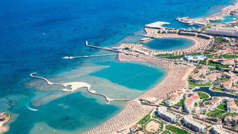 Flug nach Hurghada