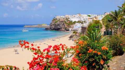 Flug nach Fuerteventura