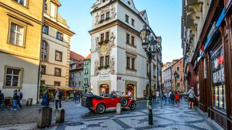 Flüge nach Prag