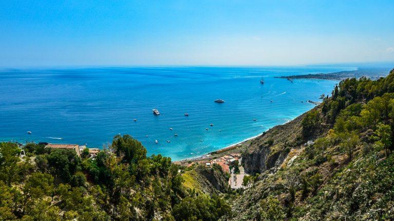 Weltweite Flugziele Sizilien